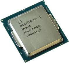 CPU Intel® Core™ i3-6100 Processor 3M Cache, 3.70 GHz (tray)