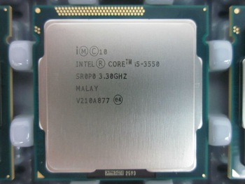 CPUIntel® Core™ i5-3550 Processor 6M Cache, up to 3.70 GHz (tray)