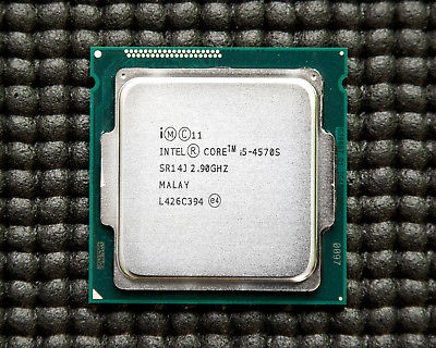 CPU Intel® Core™ i5-4570S Processor 6M Cache, up to 3.60 GHz (tray)