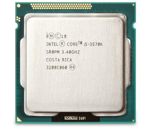 CPU Intel Core i5 3570K (6M Cache, up to 3.80 GHz) Tray