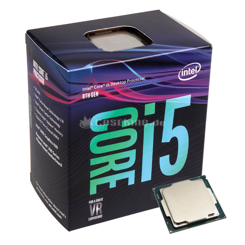 CPU Intel Core i5 8400, full box, (9M Cache, 2.8 GHz up to 4.00 GHz)