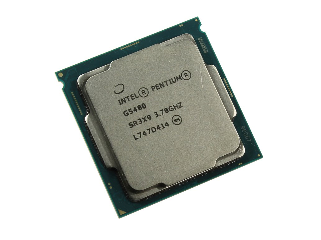 CPU Intel® Pentium® Processor G5400 4M Cache, 3.70 GHz (tray)