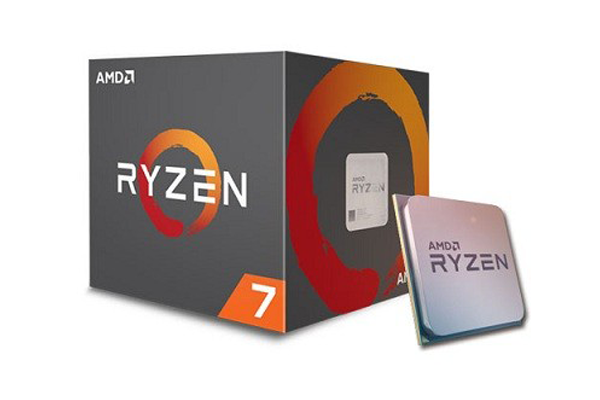 CPU AMD Ryzen 7 2700 (8-core/16-thread, 3.2GHz-4.1GHz, 20MB, 65W TDP)