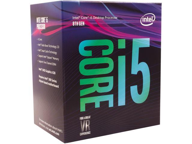 CPU Intel Core i5-8400 (6C/6T, 3.0 GHz, 9MB) Tray