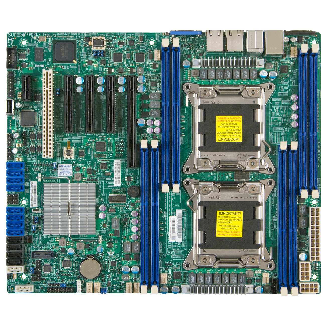 Supermicro X9DRL-IF server motherboard C602 chipset LGA 2011 DDR3