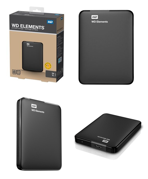 Box HDD 2.5″ WD Element USB 3.0