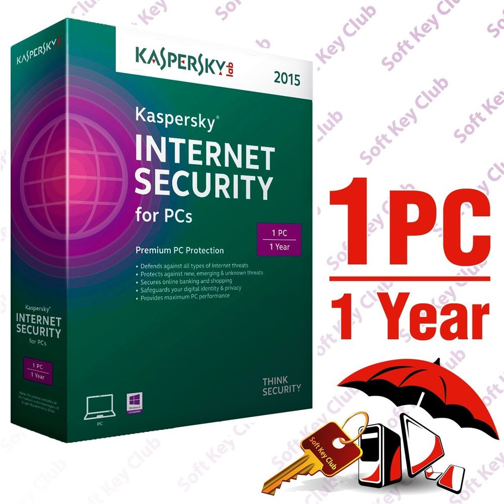 Kaspersky Internet Security 1 PC Full Box