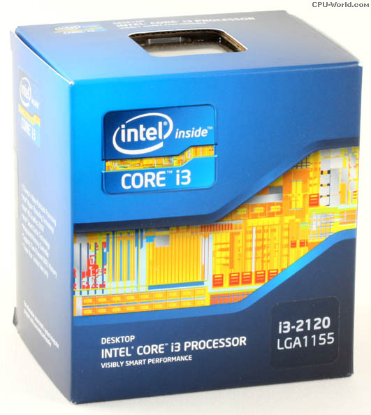 CPU Intel Core i3 - 2120 (3M Cache, 3.30 GHz) Tray