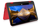 "HP Pavilion x360 11-K8G69A-WYC9,N3700 1.6Ghz 4GB 500GB  11.6""TouchSreen Sunset Red"