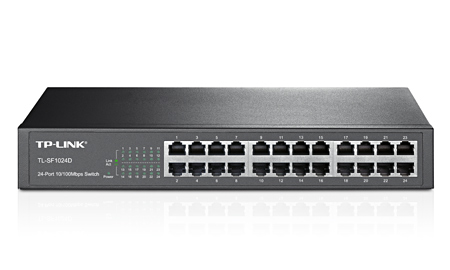 Switch TP-Link TL-SF1024D 24 Port (Đen)