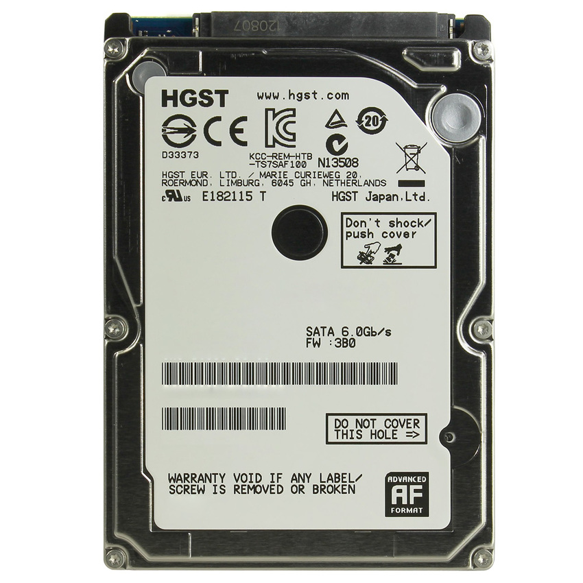 "Ổ cứng Laptop Hitachi HGST 1TB 2.5"", 7200 Rpm SATA III 6Gb/s"