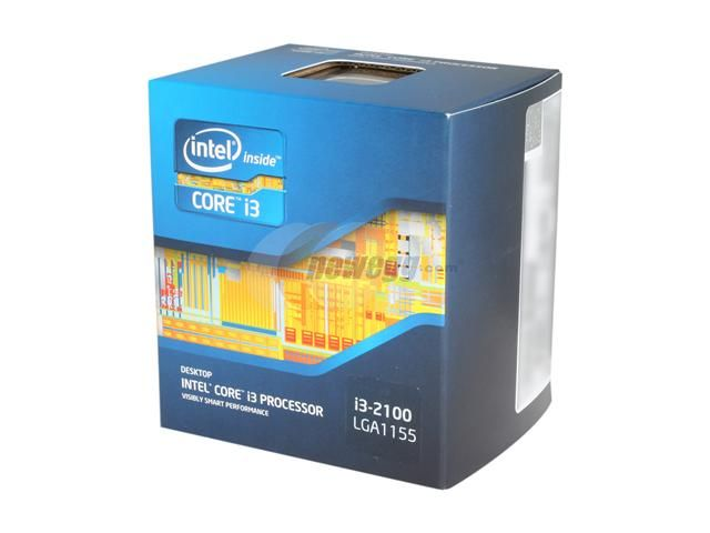 CPU Intel Core i3 2100 socket 1155 tray