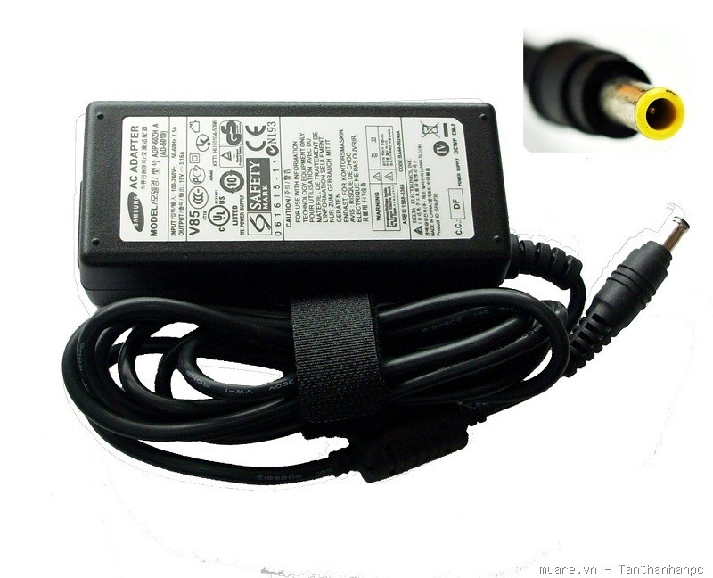 Adapter Samsung 19V - 4.74A loại tốt