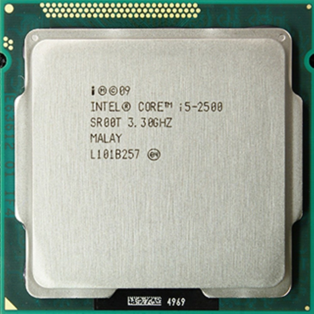 CPU Intel Core i5-2500  (6M Cache, up to 3.70 GHz), Tray