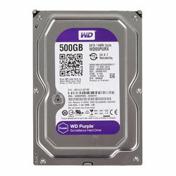HDD PC WD Western Digital 500GB Tím (Chuyên Camera), Renew, BH Cty
