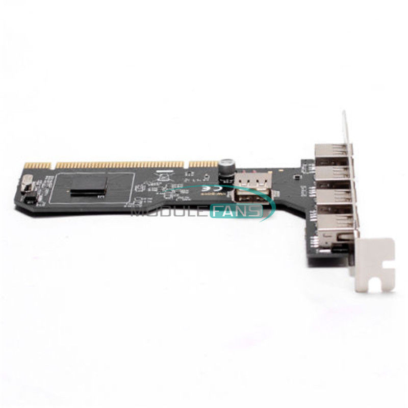 Card PCI USB 2.0, 5 port