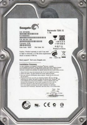 HDD PC 1TB 72000RPM Seagate (cũ)