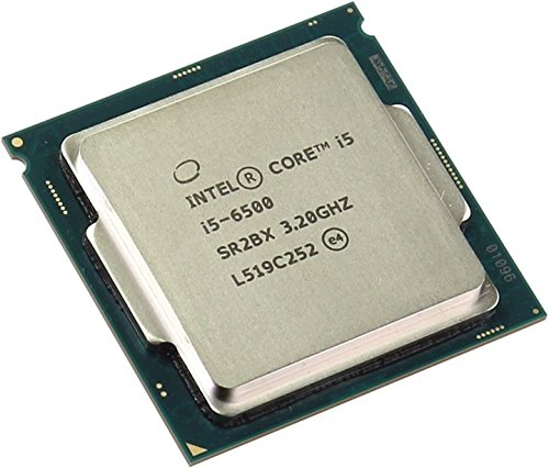 CPU Core i5 6500, max 3.6 Ghz tray