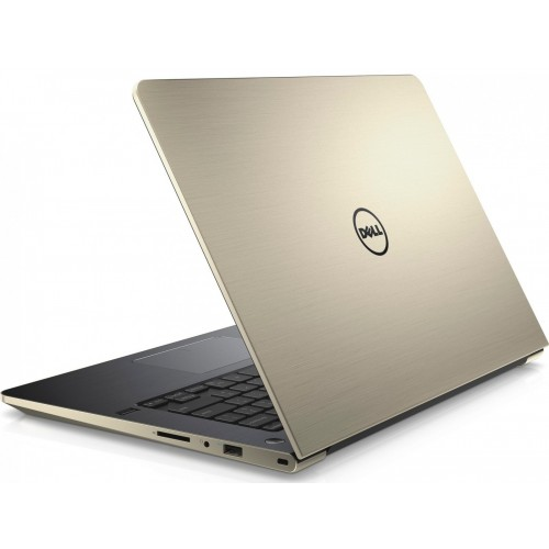 "Vostro V5468-256W10 Gold/Grey, i7-7500U 2.7Ghz 4GB 256GB SSD 14"" LED CAMERA  Bluetooth. Vga GT940M-4GB"