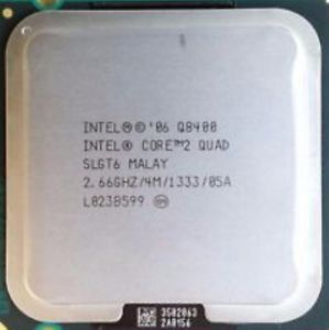 CPU Intel® Core™2 Quad Processor Q8400 4M Cache, 2.66 GHz, 1333 MHz FSB